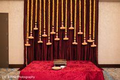 Haldi ceremony stage decor