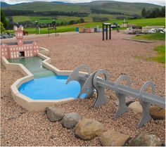 Our nine hole crazy golf course isn't just a test of your skills and sanity. It's also a miniature tour of Scotland.
