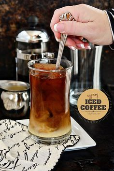 Eggnog Iced Coffee r
