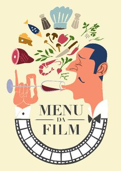 Menu da Film in Antica Bottega del Vino! It's time of movie and food at the Antica Bottega del Vino!