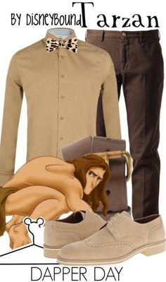 Tarzan by DisneyBound                                                                                                                                                     More