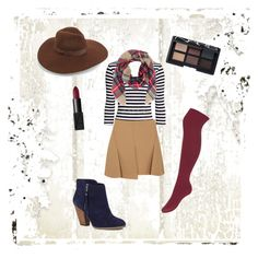 """""""Fall"""" by mackenzie-morton on Polyvore featuring Sole Society, Alexander Wang, Lack of Color and NARS Cosmetics"""