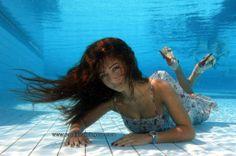 Underwater photo models  Photographer Tevfik Camgöz www.nautilusdivingcyp.com