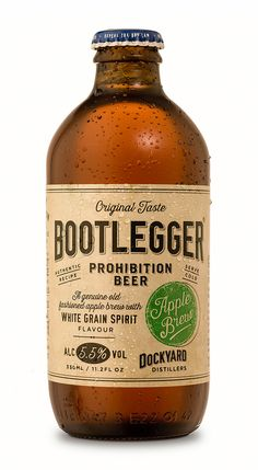- BEER, CIDER AND LOW ACOHOL - Bootlegger Apple Brew