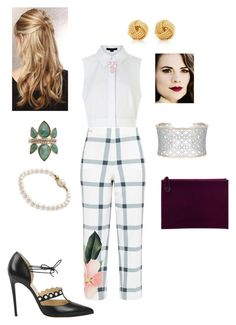 """""""#137"""" by snows22 on Polyvore featuring moda, Tiffany & Co., Ted Baker, Humble Chic, Carolee e Karen Millen"""