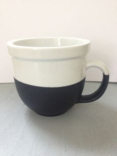 Chalkboard dipped coffee mug by PinspiredGoods on Etsy, $10.00