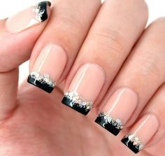 Amazing French Manicure Nail Art Designs Ideas25