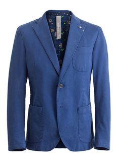 Manuel Ritz Blue Blazer AW12