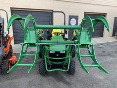 Brush-Crusher-BC4200-JD-2 John Deere Compact Tractors, Small Tractors, John Deere Tractors, Tractor Accessories, Tractor Attachments, Semi Trucks, Good Grips, Gardening
