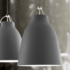 Lightyears Caravaggio P3 lamp, matt light grey | Pendants | Lighting | Finnish Design Shop