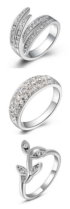 Platinum diamanted rings. Which style would you prefer? Click on the picture to see more.