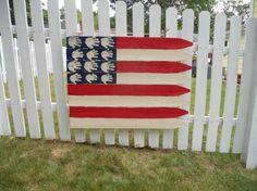 Homemade AmericanFlag