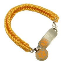 These rubber medical bracelets are a perfect solution for those needing a medical bracelet, but not wanting to spend a fortune. The rubber is latex free, so no worries about allergies. The rubber band attaches to the medical ID tag with stainless steel trigger clasps. This bracelet is made from durable silicone rubber bands.   This medical bracelet comes with an optional medical heart charm or round charm option. www.stylishmedicalid.com
