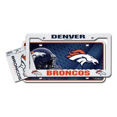 Denver Broncos NFL 3 Piece Auto Value Pack