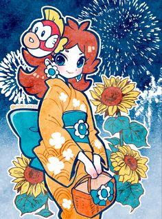 Mario Fan Art, Super Mario Art, Mario Bros., Mario And Luigi, Nintendo Princess, Daisy Art, Princess Daisy, Super Mario Brothers, Cute Art Styles