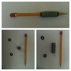 Diy Weighted Pencil This Made A Big Difference In Grasping