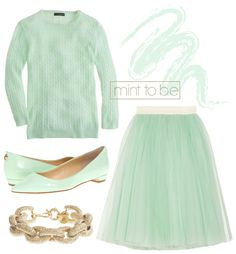 mint + gold - just recently bought some mint stuff! looking forward to spring