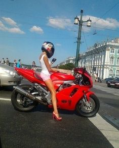 Not many things hotter than a babe on a bike. Drool.....: Motorcycles, Girls, Sexy, Style, Bikes, Cars, Biker