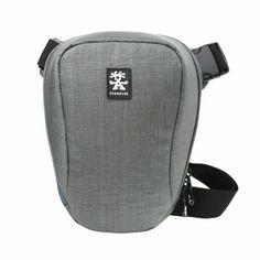 New Crumpler Quick Escape 400 Shoulder Bag Case Cover for SLR DSLR Camera GRAY