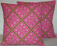 Flower Patch Pillow Cover by BeachDawn on Etsy