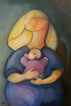 """Mother of Mankind"", by Andrey Bond., 2012, acrylic Галерея - abond.org - Сайт-галерея Андрея Бондаренко"