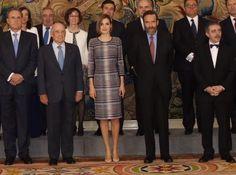 Queen Letizia attends audiences at Zarzuela Palace