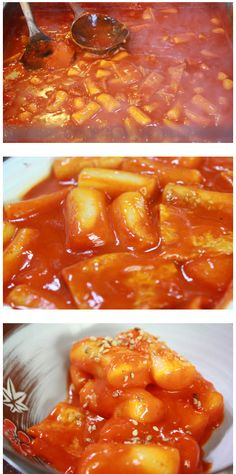 Tteokbbokki (Spicy stir-fried rice cake) Seriously...can you have cravings for food you've never tasted?