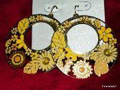 Beautiful Yellow earrings_Boho Chic
