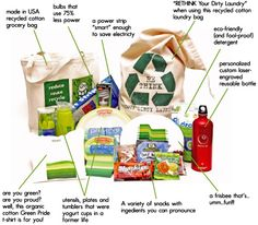 go green packaging.