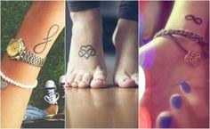Małe tatuaże ze znakiem nieskończoności, które urzekają