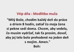 Vtip dňa : Modlitba muža - Spišiakoviny.eu
