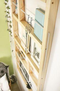 Do it yourself: Ypperlig Wandregal selbst nachbauen DIY DIY Estante de pared Ypperlig de Ikea – Gingered Things Interior Ikea, Diy Home Decor, Room Decor, Diy Bathroom, Diy Casa, Diy Inspiration, Diy Décoration, Home Hacks, Diy Hacks