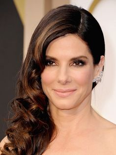 Sandra Bullock - Oscars Hairstyles 2014