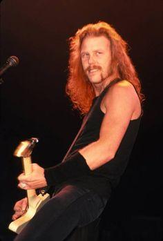 James Hetfield--Looks like someone I know. James Hetfield, Jason Newsted, Cliff Burton, Robert Trujillo, Metallica, Famous Mustaches, Seek And Destroy, My Heart Hurts, Heavy Metal Music