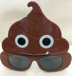 LLTrader Emoji Poop Sunglasses Party Favor Christmas Day Emotoin Poo Party Sunglasses #funny #fashion #gaggift #giftidea #poop #poopemoji #tshirt #tshirts