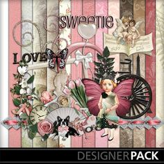 Take a look at these lovely new kits! #TatteredPrincessDesigns @www.Mymemories.com #Craft #Digital #scrapbook #My Victorian Valentine