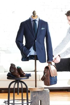 Post with 17 votes and 20881 views. Shared by LALONDEs. Urban Fashion, Mens Fashion, Capsule Outfits, Suit Shirts, Office Looks, Tie And Pocket Square, Sports Jacket, Suit Jacket, Menswear