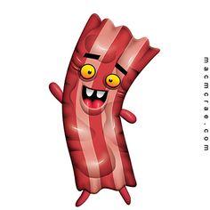 Cartoon -  Bacon