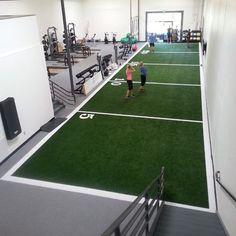 V Max Artificial Grass Turf 12 ft wide x Pad per LF Arena Pro Artificial Grass Turf 12 ft width per Indoor Court Home Gym Basement, Home Gym Garage, Dream Home Gym, Best Home Gym, Sports Turf, San Myshuno, Backyard Gym, Indoor Gym, Gym Interior