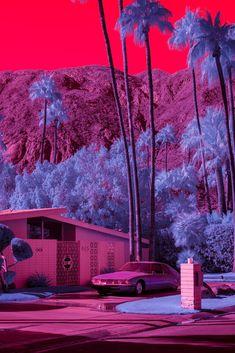 Palm Springs by Australian photographer Kate Ballis