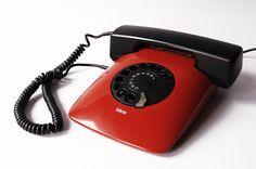 ISKRA ETA 80 82 Telephone Yugoslavia Vintage 1982 Rotary Retro Device 80s Electronic Davorin Savnik Design Moma Red Phone Awards 1980s Slovenia Soviet Handset – ETSY RetroSparkShop