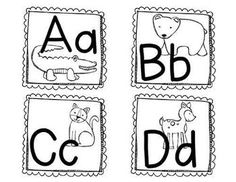 Zoo-phonics letter cards. Perfect for the primary