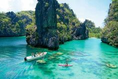visitheworld: Described as one of the best island destinations in the world, Palawan Islands, Philippines (via www.all-that-is-interesting.com).