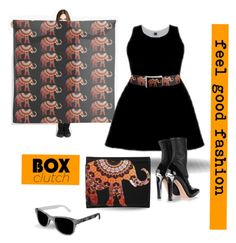 """""""BOX CLUTCH#"""" by marijkeverkerkdesign ❤ liked on Polyvore featuring IDeeen, Alexander McQueen, women's clothing, women's fashion, women, female, woman, misses and juniors"""