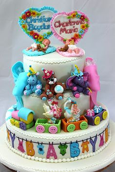 viorica's Cakes: Cake for twins