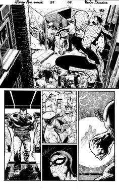 A. Spider Man annual 37 page 7 by PauloSiqueira on deviantART