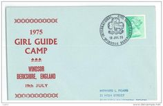 1975 girl guide camp first day issue