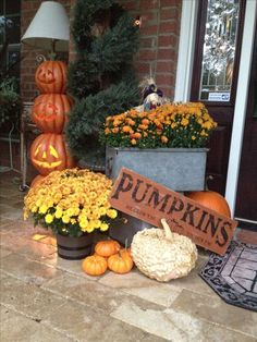 fall decorating more