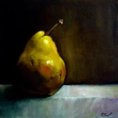 """A Bosc Pear"" - Original Fine Art for Sale - © Bob Kimball"