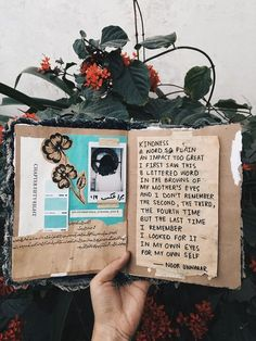 kindness and my mother - a poetry piece by noor unnahar with art journal entry in scrapbooking style Kunstjournal Inspiration, Sketchbook Inspiration, Bullet Journal Inspiration, Wreck This Journal, Journal Pages, Junk Journal, Journal Ideas, Journal Quotes, Noor Unnahar